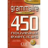 Grammaire 450 Nouv. Exercices Debut. Livre + Corriges