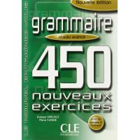 Grammaire 450 Nouv. Exercices Avance Livre + Corriges