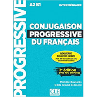 Conjugaison Progr. du Francais Int. 3Ed. Livre + CD & Appli