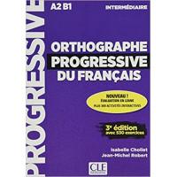 Orthographe Progr. du Francais 3Ed. Int. Livre + CD & Appli