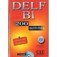 DELF B1 200 Activites Livre + CD