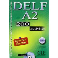 DELF A2 200 Activites Livre + CD
