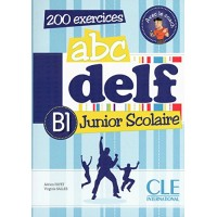 ABC DELF Junior Scolaire B1 Livre + CD