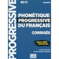 Phonetique Progr. du Francais 2Ed. Avance Corriges