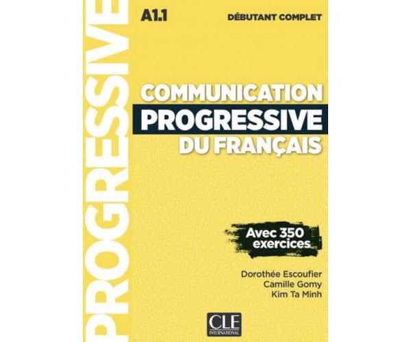Communication Progr. du Francais Compl. Debut. 3Ed. Livre + CD