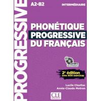 Phonetique Progr. du Francais 2Ed. Interm. Livre + CD