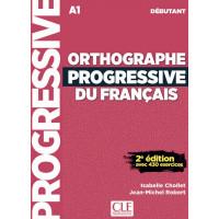 Orthographe Progr. du Francais 2Ed. Debut. Livre + CD