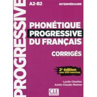 Phonetique Progr. du Francais 2Ed. Interm. Corriges
