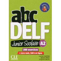 ABC DELF Junior Scolaire A2 2Ed. Livre + DVD