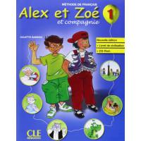 Niveau Alex et Zoe 1 Livre + CD-ROM