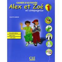 Niveau Alex et Zoe 1 Cahier + CD