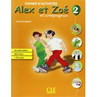 Niveau Alex et Zoe 2 Cahier + CD