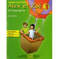 Niveau Alex et Zoe 3 Cahier + CD