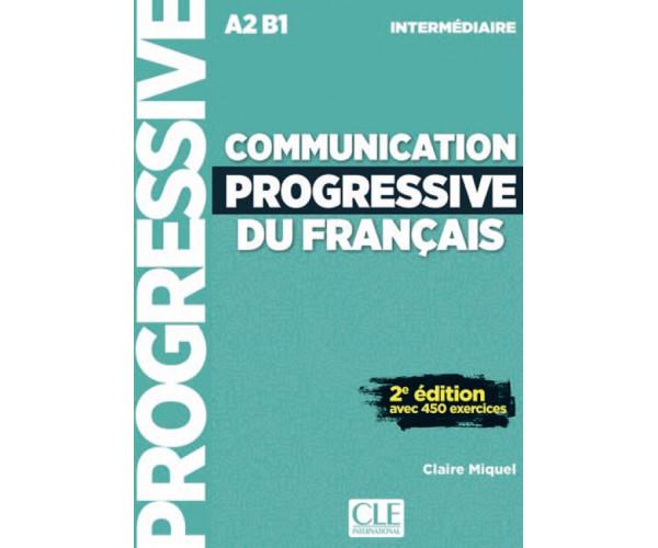 Communication Progr. du Francais Intermed. 2Ed. Livre + CD