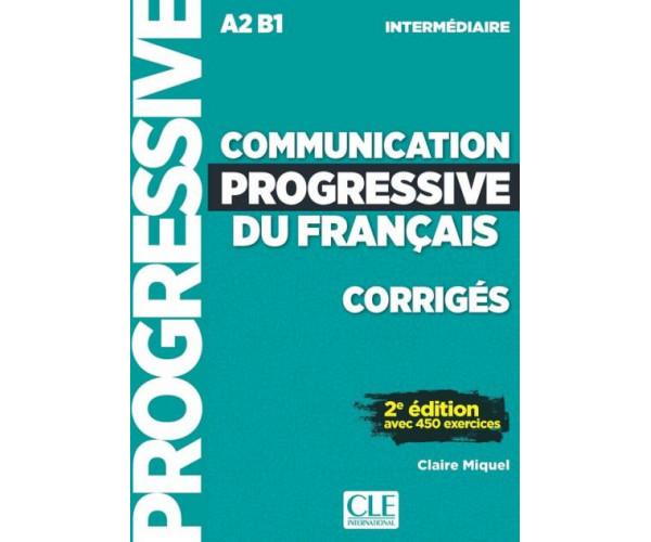Communication Progr. du Francais Intermed. 2Ed. Corriges
