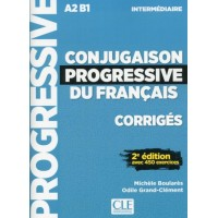 Conjugaison Progr. du Francais Interm. 2Ed. Corriges