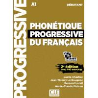 Phonetique Progr. du Francais 2Ed. Debutant Livre + CD