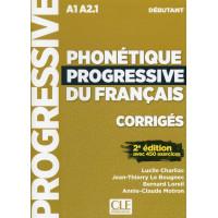 Phonetique Progr. du Francais 2Ed. Debutant Corriges