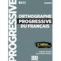 Orthographe Progr. du Francais 2Ed. Avance Livre + CD