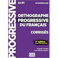 Orthographe Progr. du Francais 2Ed. Intermediaire Corriges