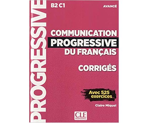 Communication Progr. du Francais Avance 3Ed. Corriges