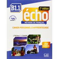 Echo 2Ed. B1.1 Cahier + CD