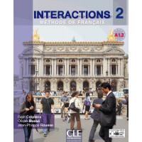 Interactions 2 Livre + DVD