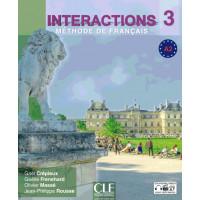 Interactions 3 Livre + DVD