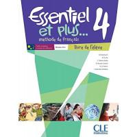 Essentiel Et Plus 4 Livre + DVD-ROM