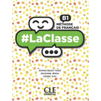 #LaClasse B1 Livre + DVD-ROM (vadovėlis)