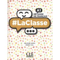 #LaClasse A1 Livre + DVD-ROM (vadovėlis)