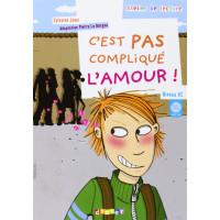 C'est Pas Complique L'amour Livre + CD