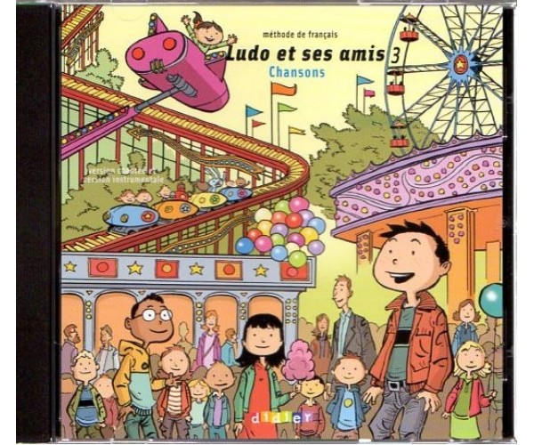 Ludo et ses Amis 3 CD (Chansons)