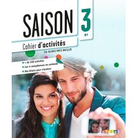 Saison 3 Cahier + CD Audio