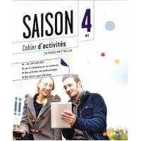 Saison 4 Cahier + CD Audio