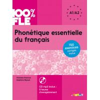 Phonetique Essentielle du Francais + CD A1/A2