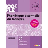 Phonetique Essentielle du Francais + CD B1/B2
