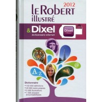 Le Robert Dictionnaire Illustre & Dixel + USB 2012 Ed.
