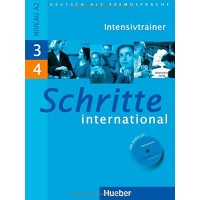 Schritte International 3-4 Intensivtrainer + CD