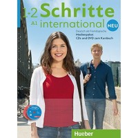 Schritte International Neu 1/2 CDs + DVD zum KB