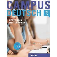 Campus Deutsch: Horen & Mitschreiben B2/C1 Buch + MP3-CD