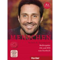 Menschen A2/1&A2/2 Medienpaket (CDs&DVD zum KB)