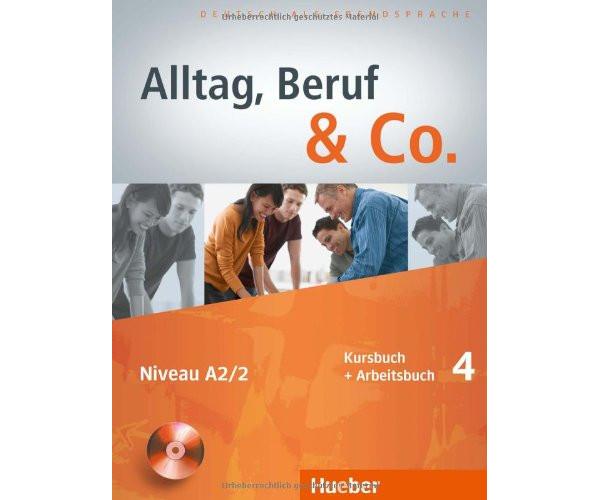 Alltag, Beruf & Co. 4 KB + AB & CD zum AB