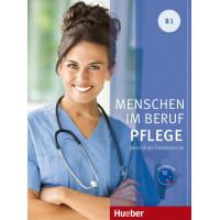Menschen im Beruf - Pflege B1 KB + CD