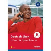 Deutsch Uben: Horen & Sprechen A2  Buch & MP3 CD