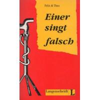 Einer singt falsch Leseheft