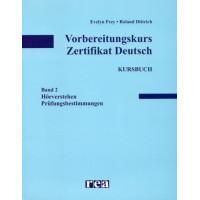 Vorbereitungskurs Zertifikat Deutsch 2 KB