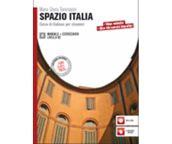 Spazio Italia 4 B2 Manuale + Eserciziario & DVD-ROM