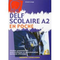 DELF Scolaire en Poche A2 + CD