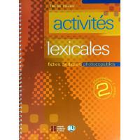 Activites Lexicales 2 Photocopiable